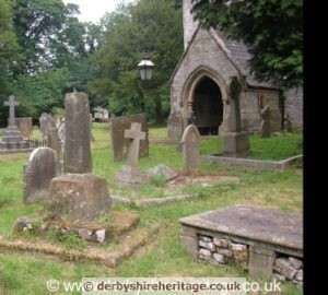Wormhill churchyard cross