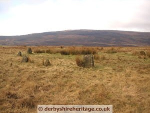 Seven Stones of Hordron Edge stone circle