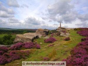 Nelson's Monument Birchen Edge Baslow Derbyshire