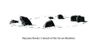 Seven Brideron (Bretheren) a sketch by Hayman Rooke