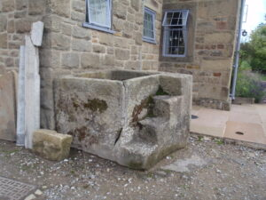 Milltown mounting block and trough